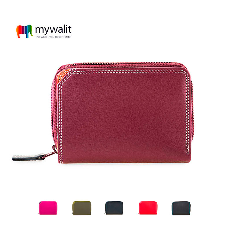 Small Wallet w/Zip Around Purse - Mywalit