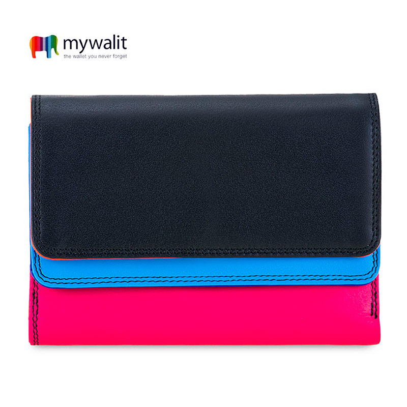 Double Flap Purse/Wallet - Mywalit