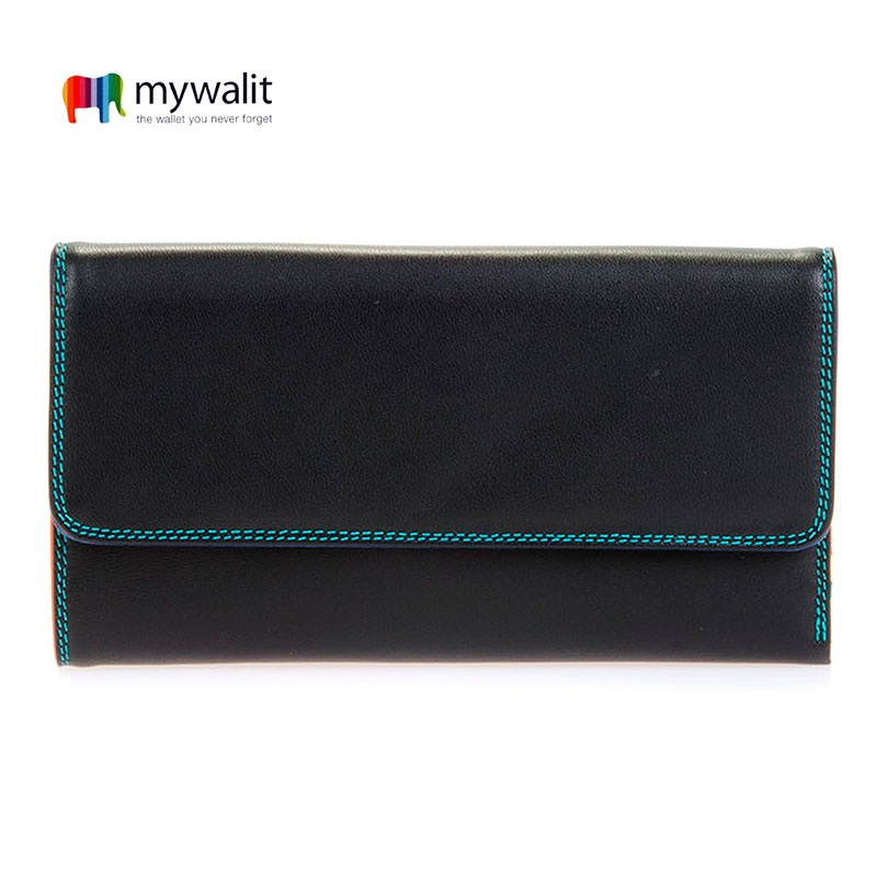 Tri-fold w/Outer Zip Purse - Mywalit