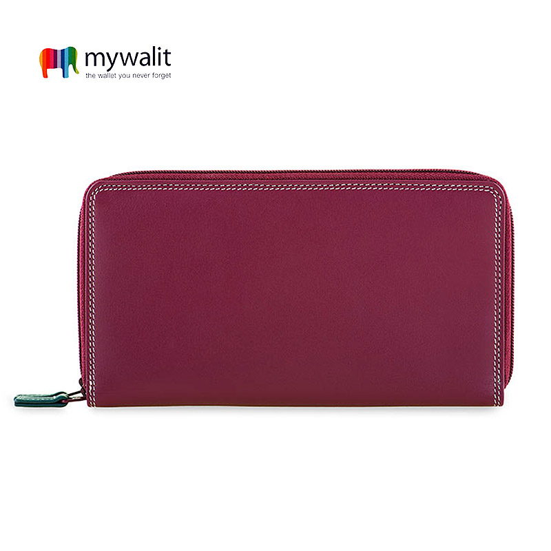 Large Double Zip Around Purse - Mywalit