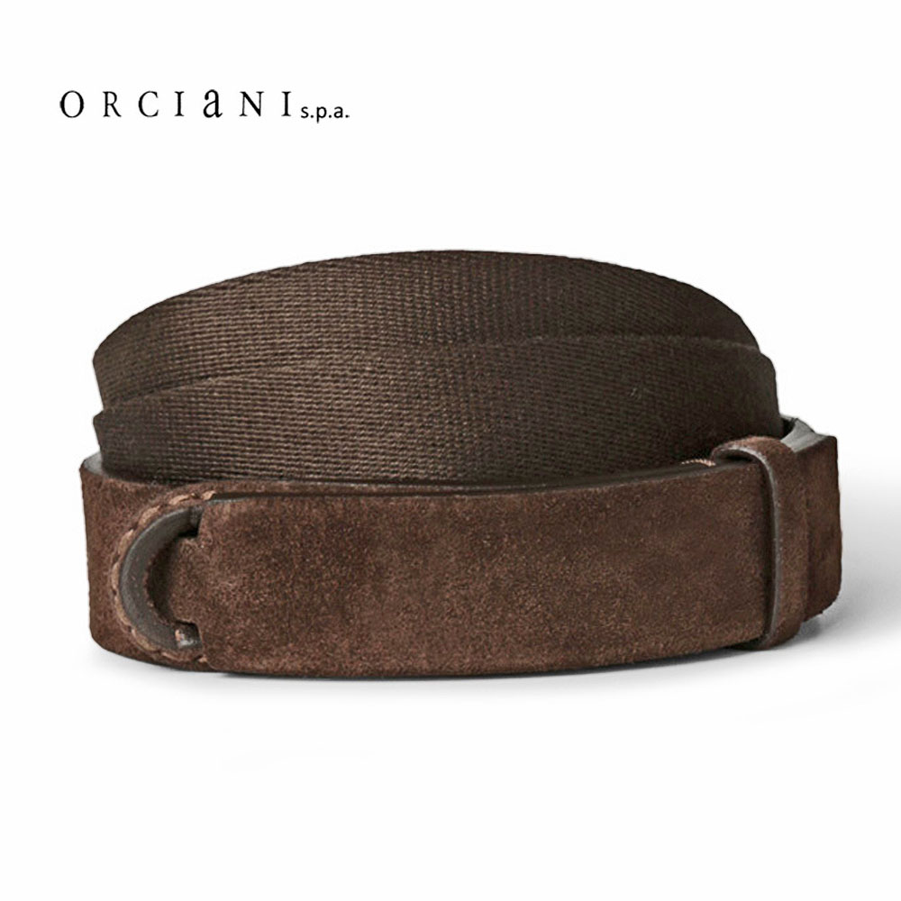"""Man's Leather Belt"" - Orciani"
